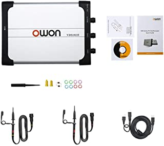 Owon VDS1022I virtual dual-channel oscilloscope bandwidth of 25Mhz USB 100MS/S sample rate USB isolation