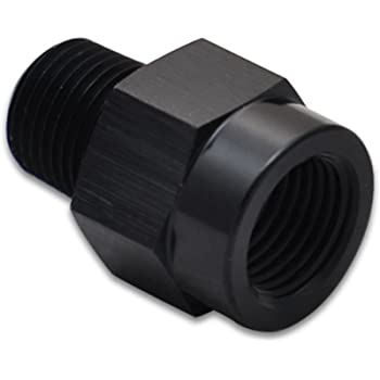 Vibrant Performance 11380 11380-3AN to 1//8 NPT Female Swivel 90 Degree Adapter Fitting