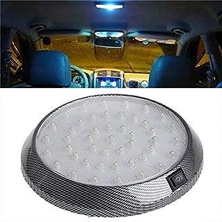 DC 12V Auto-Innenleuchten Auto-Innenbeleuchtung 2 PCS 3.5W 250 LM 6000K 39MM 12 SMD-LEDs 2835 Bicuspid Port-Dekodierung Auto Dome Lampe LED-Leselicht Color : White Light wei/ßes Licht