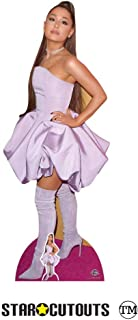 Star Cutouts CS780 Ariana Grande Lifesize Cardboard Cutout American Singer Songwriter Height 163cm Comes with Free Mini Desktop Standee, Multicolour