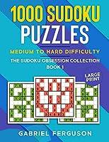 1000 Sudoku Puzzles Medium to Hard difficulty