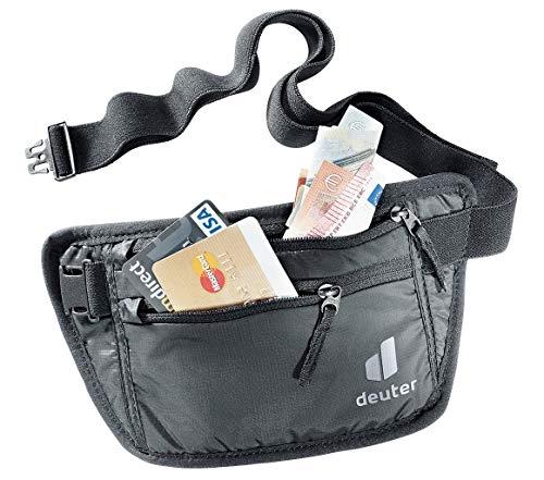 deuter Unisex– Erwachsene Security Money Belt I Bauchtasche, black, One Size