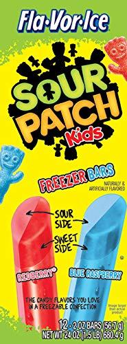 Fla-Vor-Ice Sour Patch Freeze Pops 12x 56,7g 6er Pack