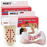 Bolsas de Almacenamiento de Leche Materna MEDca, 200 unidades, sin BPA 6oz / 180ml - Accesorios y Elementos Esenciales para la Lactancia Materna