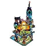 ReallyPow Set de iluminación LED para Lego Ninjago City Gardens 71741 (solo incluye LED, no incluye el kit Lego) – Versión clásica