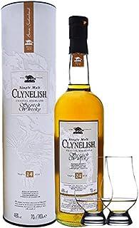 Clynelish 14 Jahre Single Malt Whisky 0,7 Liter  2 Glencairn Gläser