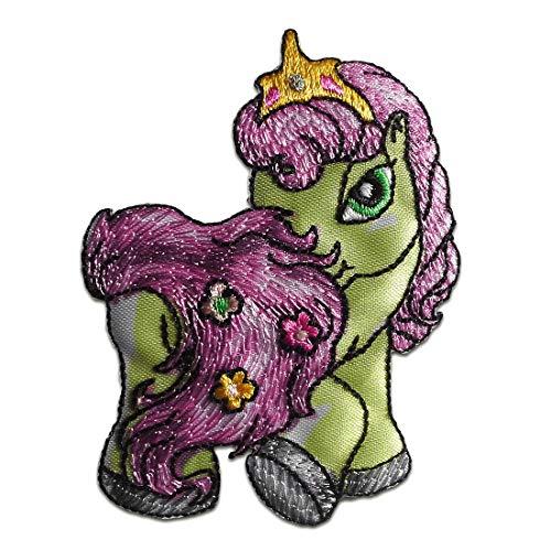 Aufnäher/Bügelbild - Filly Prinzessin Melody Comic Kinder - pink - 7,9x5,9cm - Patch Aufbügler Applikationen zum aufbügeln Applikation Patches Flicken
