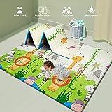 UANLAUO Baby Play mat, playmat,Baby mat Folding Extra Large Thick Foam Crawling playmats...