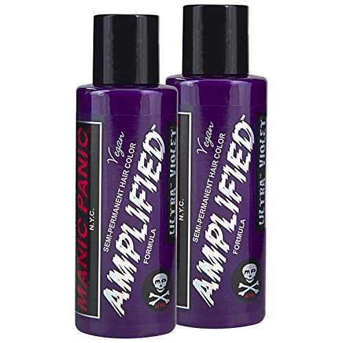MANIC PANIC Ultra Violet Hair Color Amplified 2PK