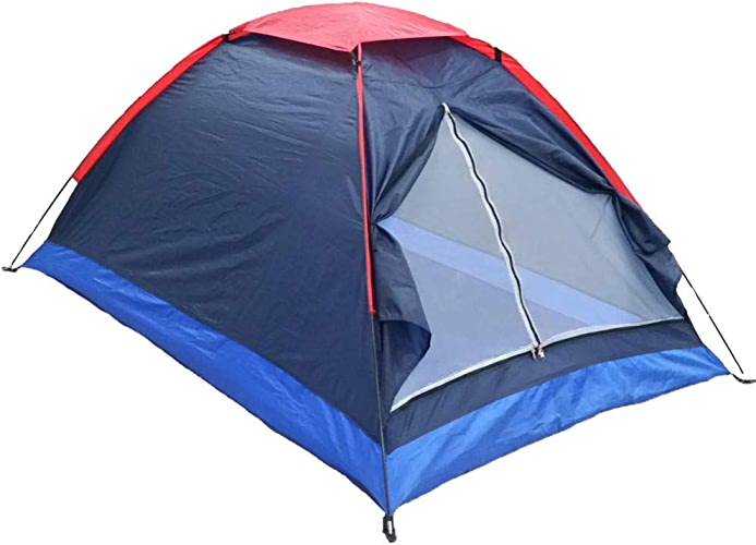Ashuang Tente de Camping en Plein air pour 2 Personnes, Tente imperméable légère avec Sac de Transport pour randonnées, Voyages, été