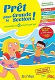Prêt pour la Grande Section - Cahiers de vacances, révisions de la Moyenne section (MS)