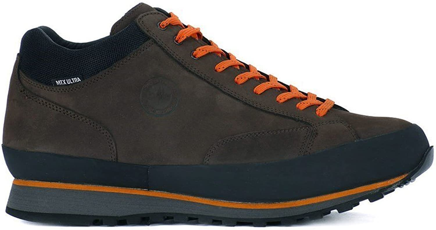 LOMER Como Ultra Espresso Pumpkin shoes