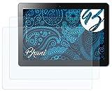 Bruni Schutzfolie kompatibel mit Lenovo IdeaPad Miix 300 10-inch Folie, glasklare Bildschirmschutzfolie (2X)