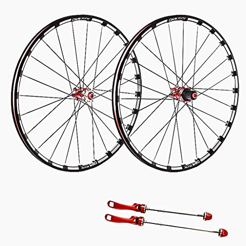 TYXTYX 27.5/29' Mountain Bike Wheels, Double Wall Quick Release MTB Rim Sealed Bearings Disc 7 8 9 10 Speed