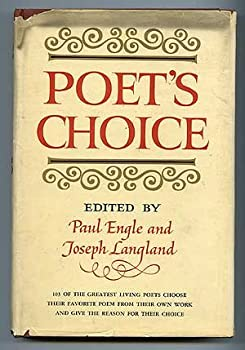Hardcover Poet's Choice Book