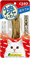 (まとめ買い)いなばペットフード CIAO 焼いわし ほたて味 1本 TSC-07 猫用 【×24】