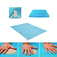 seilent Sand Free Dirt & Dust Free Picnic Beach Mat Blanket, Best for Family Travel Picnic, Camping, Outdoor Events
