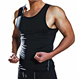 Fittoo Tank Tops for Men Cool Dry Compression Shirt Baselayer Athletic...