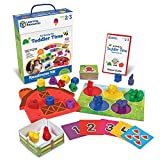 Learning Resources All Ready For Toddler Time Activity Set, Back to School Activities, School Preparation Toys, Counting, Sorting, Homeschool, 22 Pieces, Ages 2+