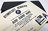 Star Trek Starfleet Academy personalisierbar Zertifikat–Schnell Versand–Das perfekte Geschenk für Ihren Star Trek Fan–mit Hologramm