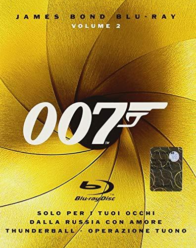 007 - Solo per i tuoi occhi + Dalla Russia con amore + Thunderball - Operazione tuonoVolume02
