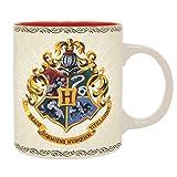 ABYstyle - Harry Potter -Taza 320 ml Hogwarts 4 Casas