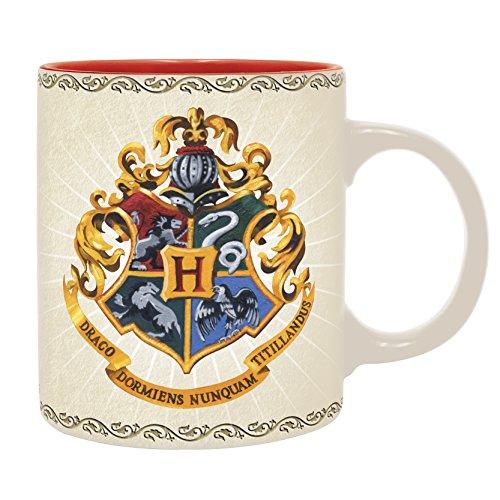 ABYSTYLE - Harry Potter Idea regalo, desayuno, escritorio, estuche, oficina, taza, taza, colección, Comics, manga, serie TV, multicolor, MID718371