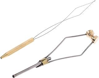 FLAMEER Fliegenfischen Bindewerkzeug Peitsche Finisher Rotierend 2 Modelle