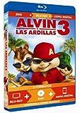 Alvin y las ardillas 3 (bd+dvd+copia dig) [blu-ray]