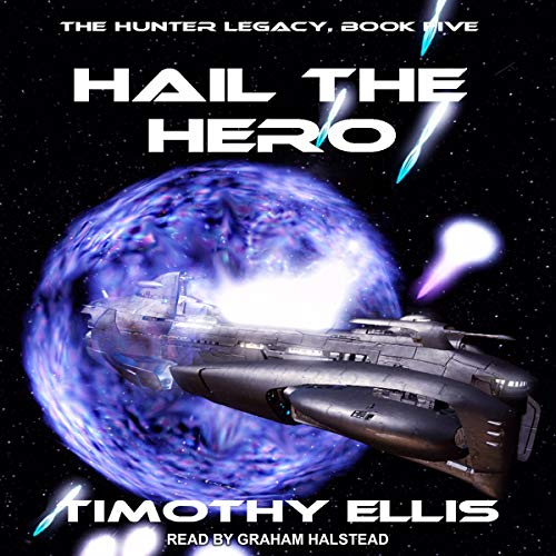 Hail the Hero audiobook cover art