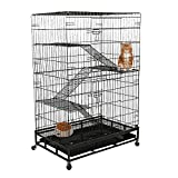 Best Cat Cages - Lucky Tree Cat Cage Large Pet Crate Cats Review