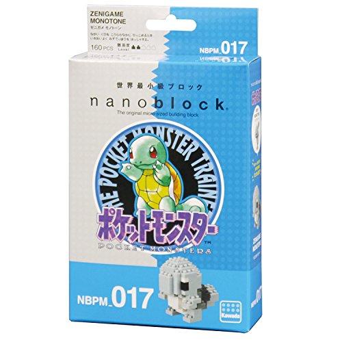 ナノブロック ポケットモンスター ゼニガメ モノトーン NBPM_017