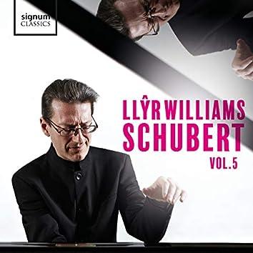 Llŷr Williams: Schubert, Vol. 5
