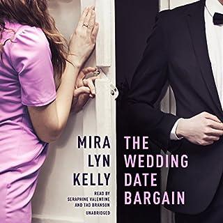 The Wedding Date Bargain audiobook cover art