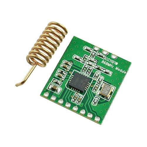 Laqiya CC1101 868MHZ Funkübertragung Antenne Transceiver Modul