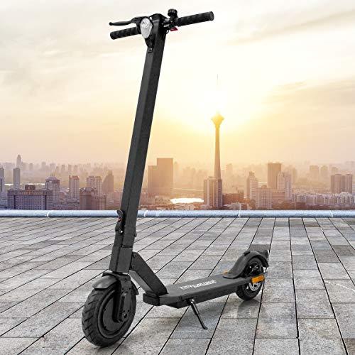 ECD Germany City Explorer E-Scooter Scooter mit Straßenzulassung eKFV Elektroscooter Modell 2020 Elektroroller - 250W - bis 20km/h - 30km Reichweite - mit Display - klappbar - Vorder und Rücklicht