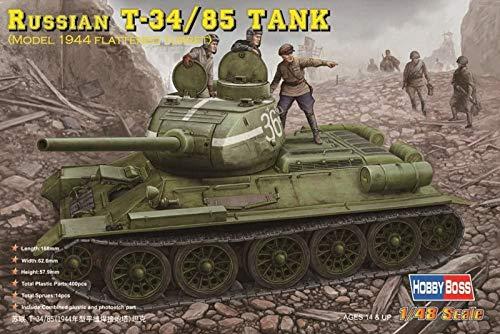 Hobby Boss 84807 modèle Kit Russian T 34/85 (1944 Flattened Turret) Réservoir