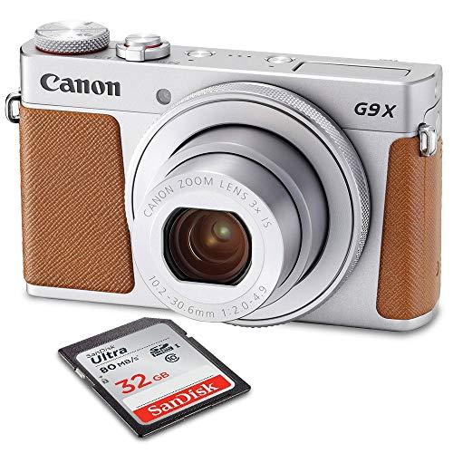 Canon PowerShot G9 X Mark II Wi-Fi Enabled Digital...