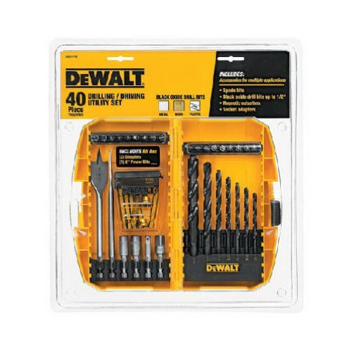 DEWALT DW1178 40-Piece Tradesman Assortment Set