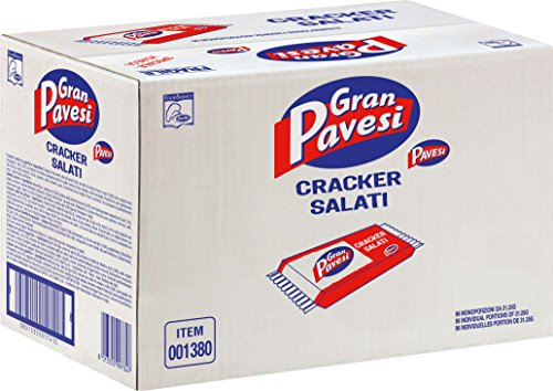 Gran Pavesi Cracker Salati I Classici, senza Olio di Palma - 96 Pezzi (3000 g)