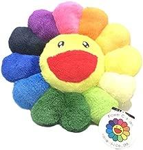 Kaikai Kiki Takashi Murakami flower stuffed cushion diameter 30cm Rainbow