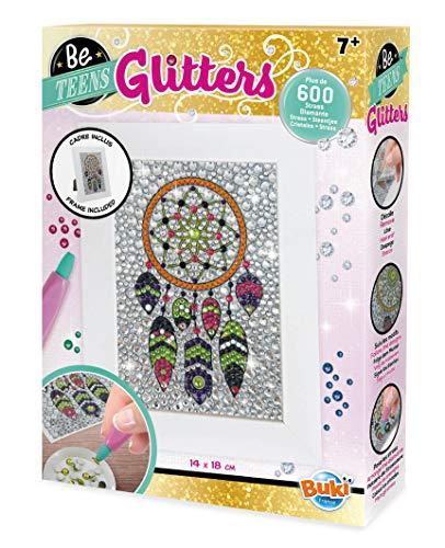 Buki France- Be Teens Glitters-Acchiappasogni Gioco Pittura Diamanti, Multicolore, DP006