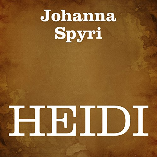 Heidi audiobook cover art