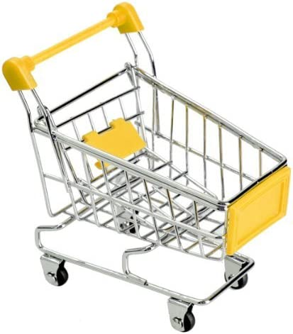 Manufacturer regenerated product Aidou Max 78% OFF Mini Shopping Cart Kids Trolley Toy Supermarket Children H