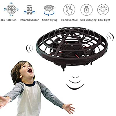 WALLE Drones for Kids Boys Flying Toys Mini Hand Drones Toy with LED Lights for Boy Girl 5 6 7 8 9(Blue)