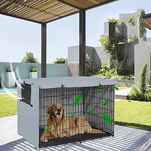 JTYX Coperture per cucce per Animali Domestici Lavabile Protezione per la Privacy Scudo per la Privacy 210D Oxford Coperture per cucce per Animali Domestici Universale per Gabbia per Cani