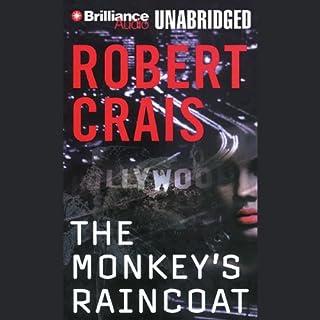 The Monkey's Raincoat audiobook cover art