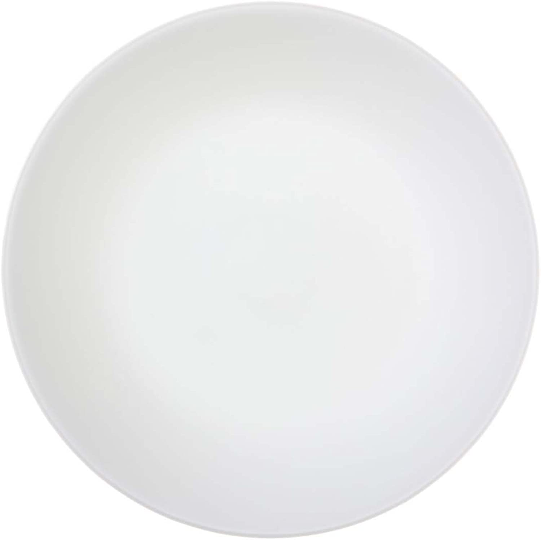 Corelle Brot- Butter-Teller Winter Frost Weiß aus Vitrelle-Glas 17 cm, 6er-Set B00KWAXTM4