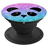 Pandabär Panda Bär Geschenk für Mädchen und Frauen - PopSockets Ausziehbarer Sockel und Griff...