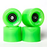Freedare Skateboard Wheels 60mm 83a with Bearings and Spacers Cruiser...